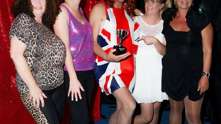 Halsey House's Got Talent - The Spicettes celebrate their win. Picture: LES BROOM