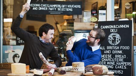 Joe and Sean Cannon who set up the Cannon & Cannon, which sells charcuterie from its London-based de