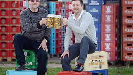Beers of Europe in Setch have won their planning permission to develop their premises. From left, De
