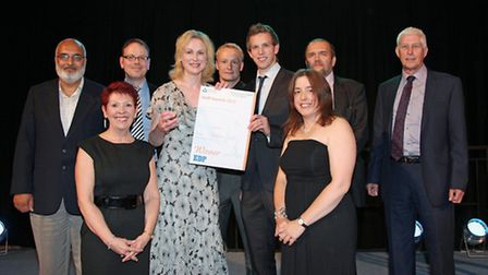 Winners of the EDP sponsored Patient Choice - Team of the Year - The MOHS Surgery Team with EDP Heal