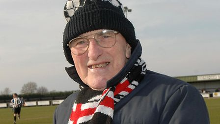 Jack Wiseman, former president of Dereham Town Football Club, has died at the age of 85.