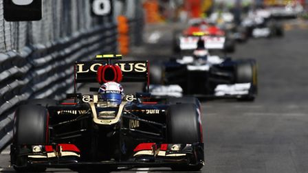The sight of a Williams chasing a Lotus or any car for that matter has been all too common this ye
