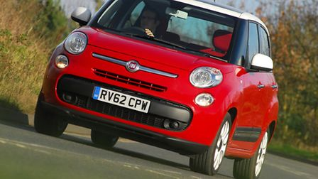 Fiat 500L aims to retain the quirky character of the 500 city car in a larger, more practical family