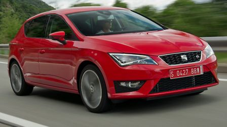 New SEAT Leon FR looks dynamic even when stationary and doesn't disappoint in the way it drives.