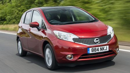 Innovative Nissan Note is a spacious, supermini-sized multi-purpose vehicle with some clever big-car