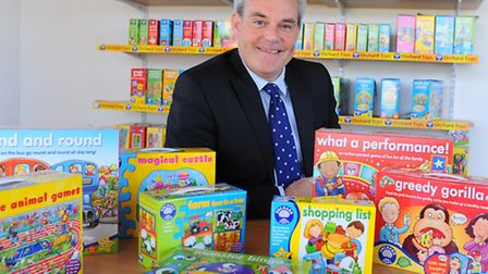Orchard Toys, based at the Wymondham Business Park. Managing director Simon Newbery. Picture: Denise