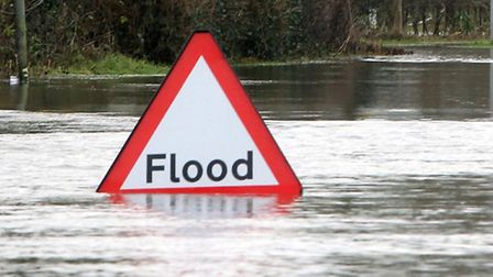 Floods warnings are in place