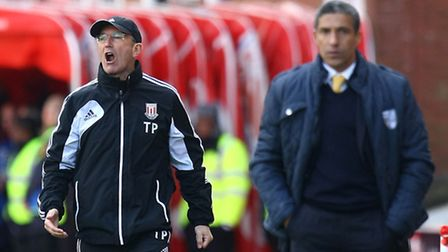 Tony Pulis brings his Crystal Palace side to Carrow Road to face Chris Hughton's Norwich City.