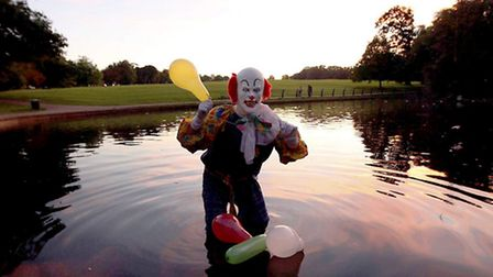 The Northampton Clown, who caused an internet sensation by spooking residents of the East Midlands town with his macabre...