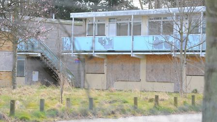 The former Pontins holiday centre site in Hemsby. April 2013.Picture: James Bass