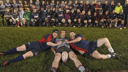 West Norfolk Rugby Club have had a charity Movember rugby match against a RAF Marham team at Gatehouse Lane in North...