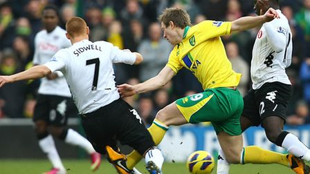Norwich City boss Chris Hughton will decide Luciano Becchio's next career move. Picture by Paul Ches
