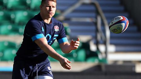 Dylan Hartley. Picture: Steve Parsons/PA Wire.