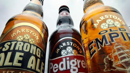 Marston's products at their brewery in Wolverhampton. PRESS ASSOCIATION Photo. Picture date: Thursda