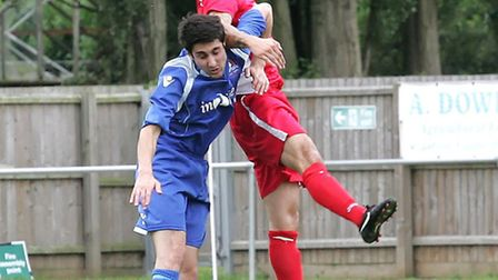 Paul Cousins may not be able to help Wisbech on or off the pitch on Saturday. Picture: Justin Steven