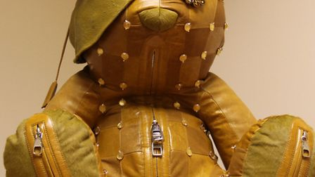 A LOUIS VUITTON Designer Pudsey Bear backpack will be sold at an online auction to raise funds for E
