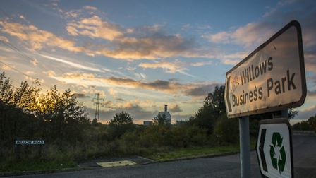 The site of the controversial incinerator. Picture: Matthew Usher.