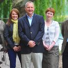 Norfolk Community Foundation staff who are behind the £250,000 Big Lottery Campaign. Left to right O