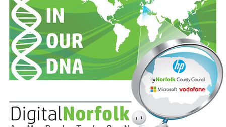 Logo for the Digital Norfolk Ambition project