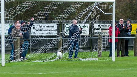 Magpies hierarchy are hoping to see a few more fans behind the goal at Aldiss Park this weekend.Pict