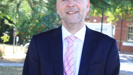 Andrew Hopkins, interim chief executive of Norfolk and Suffolk NHS Foundation Trust