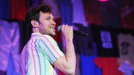 Will Young. Picture: Ian Burt