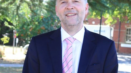 Andrew Hopkins, who will continue to act as interim chief executive of Norfolk and Suffolk NHS Found