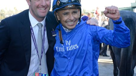 Godolphin trainer Charlie Appleby had the best winner of his fledgling career as a trainer when Outs