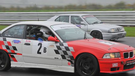 Thrill seeking passengers taking to the track at Snetterton for Shawn Taylor Racing's Charity Race D