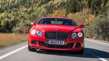The 205mph Continental GT Speed is the fastest road-car Bentley has ever produced.