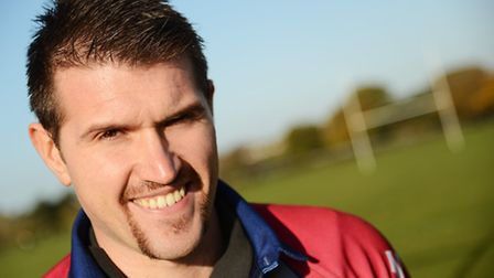 Springwood High School PE teacher Dan Ward is taking part in a charity Movember rugby match at West