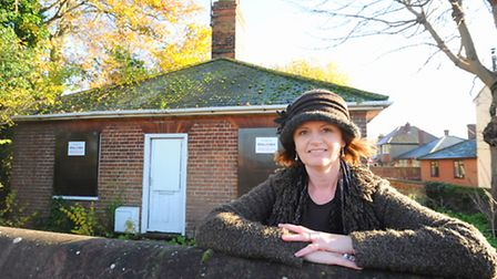 Vicki Mileham wants to launch a social enterprise from an empty building in the corner of Priory Gar