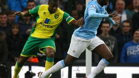 Norwich City captain Seb Bassong was left out of Norwich City's starting line up for the Premier Lea