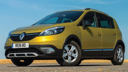 Renault Scenic XMOD combines crossover styling with multi-purpose vehicle versatility.