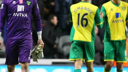 Norwich City boss Chris Hughton has urged his players to accept personal responsibility for the mann