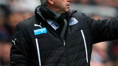 Newcastle boss Alan Pardew aims to build on a third consecutive Premier League win following the 2-1