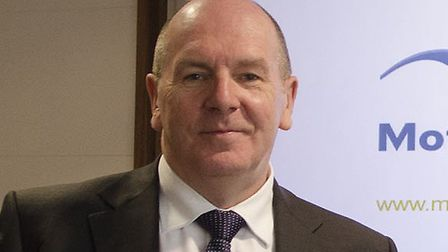 Dick Palmer, group chief executive officer, TEN Group. Picture: TRACEY TUTT