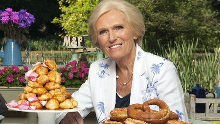 Charlie had to impress Great british Bake Off judge Mary Berry