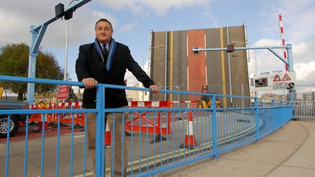 Peter Colby, pictured in 2007, has plans for the regeneration of central Lowestoft. Photo: Nick But