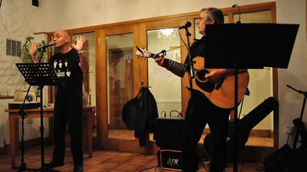 Gareth Calway (left), who is streaming a live Beatles celebration from Great Massingham Village Hall