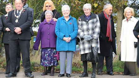 Launch celebration at the East Coast Hospice site on the edge of Gorleston.The hospice is named the