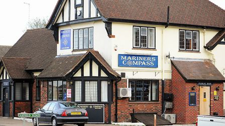 Mariners Compass pub on Middleton Road in Gorleston.Picture: James Bass