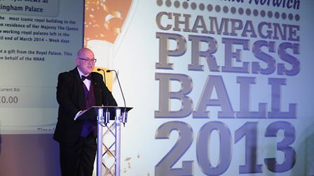 The inaugural Norfolk and Norwich Press Ball 2013 at the Norfolk Showground. Nigel Pickover.