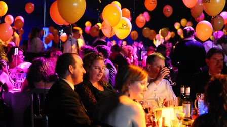 The inaugural Norfolk and Norwich Press Ball 2013 at the Norfolk Showground.