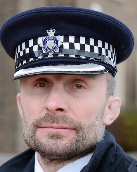 New Superintendent at King's Lynn Police Station - Supt Carl Edwards. Picture: Matthew Usher.