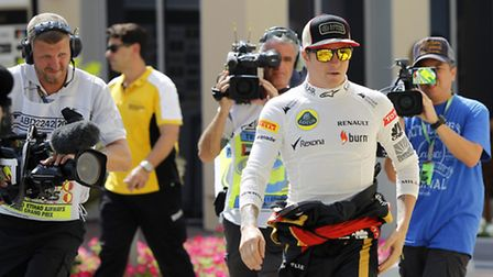 All eyes were on Kimi Raikkonen and Lotus in Abu Dhabi at the weekend - and understandably so. Photo