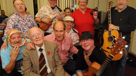 The Norwich Phab Club celebrates it's success with new members since their appeal. Former chairman E