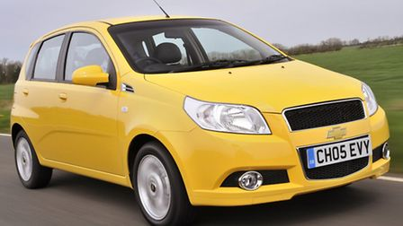Chevrolet Aveo is a compact supermini that offers low-cost motoring for up to five people.