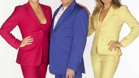 The group Bucks Fizz, who had a hit with Making Your Mind Up