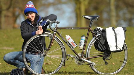 Katy Owen, of Norwich, run the London Marathon and cycled 5,000 miles across Canada. She is set to f